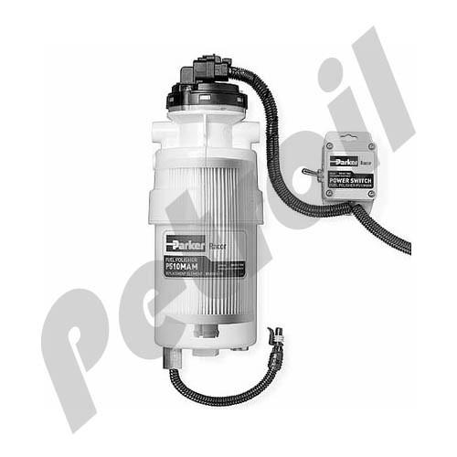 (Case of 6) P510MAM Racor Fuel Filter Kit