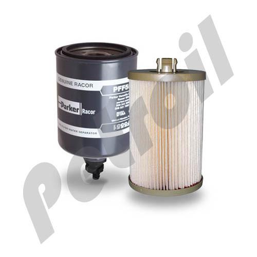 (Case of 6) PFF5551 Racor Fuel Filter Kit
