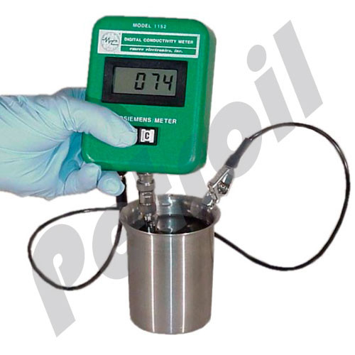 1152 Emcee Digital Conductivity Meter DCM 0-2000 Ps/m