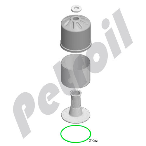6899717701 MANN Filters Seals Kit for FM090-LCB (Centrifugal Oil Conditioning System)