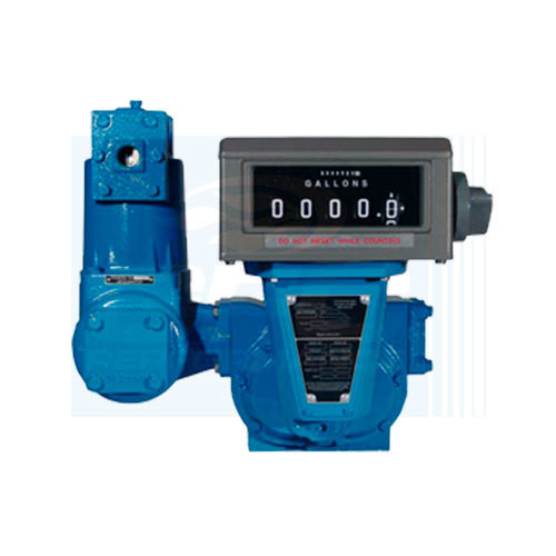 SMK2502 GFC TCS Rotary Positive Displacement Meter 2 NPT Flow 10-100 GPM 110 U Gallons 150 PSI 160 F