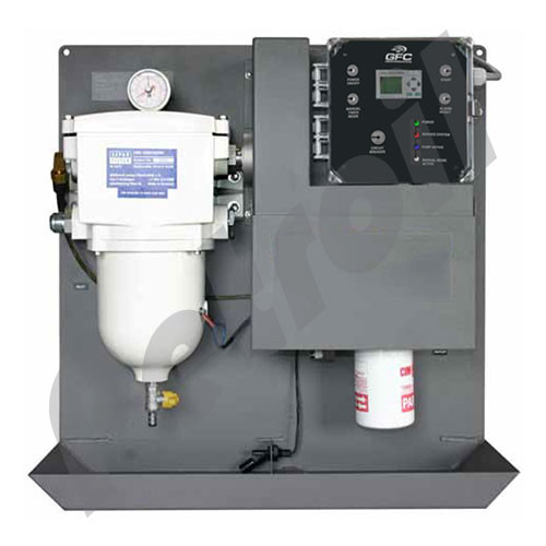 FCS-2200 Fuel Conditioning System 2200 LPH 24VDC 50Hz Digital Controller 30mic Prefilter /2mic
