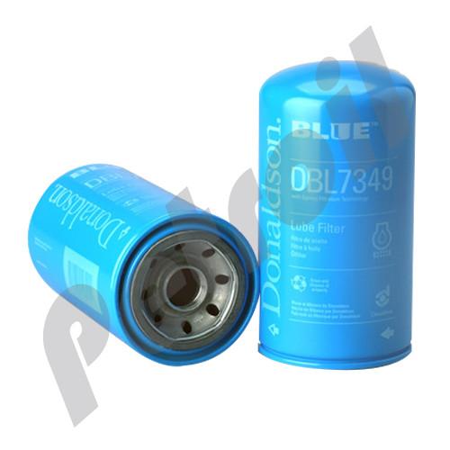 DBL7349 Donaldson Blue Oil Filter  High Efficiency Spin On Full Flow Chrysler 5083285AA 57620XE BT7349 LF3806 15 Mic P558615  1 1/2-16  12