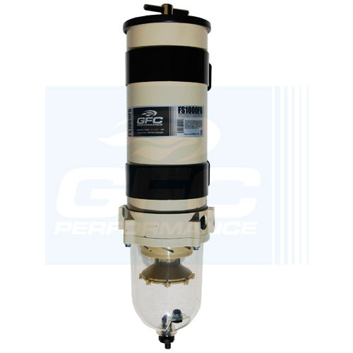 Only for Export (Case of 1) FS1000FG Water Separator Housing  GFC Turbine Parker 1000FG 180 GPH 1000 HP