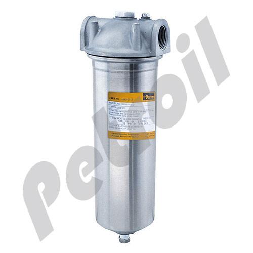 BSSB10-3/4SD Fulflo® BSSB Filter Parker Vessel 316