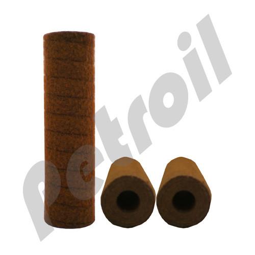 "Fulflo® ProBond™ Filter Cartridges Parker Polyester 25 mic  Long 9-3/4"" DOE"
