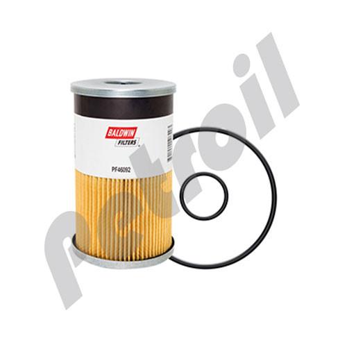 PF46092 Baldwin Fuel/Water Separator Element Davco 382134 Fleetguard FS19905G