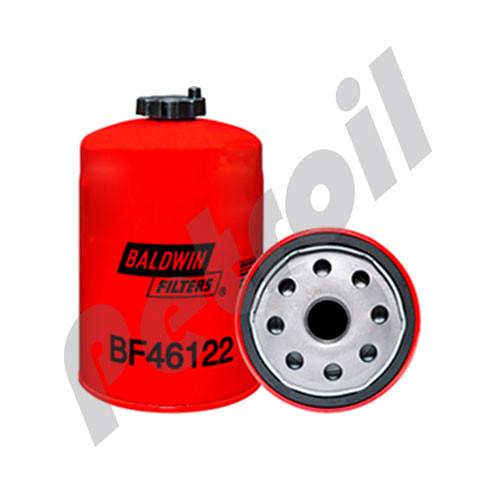 BF46122 Baldwin Fuel/Water Separator with Drain Deutz 4504438 Racor R60THB1 Fleetguard FS1095