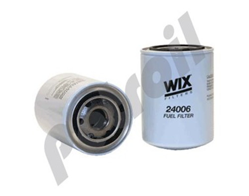 Wix Spin On Fuel Filter Full Flow BF955 P550115 WG1101 FF5012