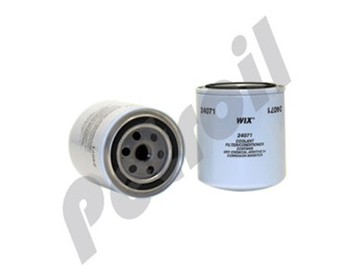Wix Coolant Spin-On Filter Case Case-Ih Model Stx335 Motor Cummins 9 0L Bulldozer Caterpillar BW5137 P554071 C4071 WF2051