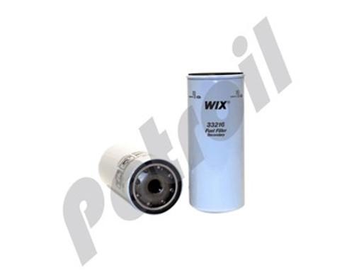 Wix Fuel Filter Spin On Mack Trucks Model Ch600 Motor L6 12L 728 Cid Mack E7 Turbo Diesel F3216 BF976 P550431 FF222 WP3431 MF3431