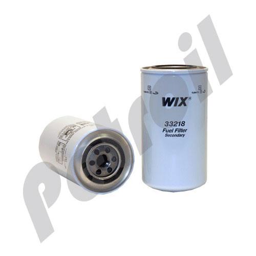 Wix Fuel Filter Spin On Mack Trucks Model Cs-Series Mid-Liner Motor L6 5 5L 355 Cid Turbo Diesel F3218 BF876 P550218 FF171 WP1110 MF1110