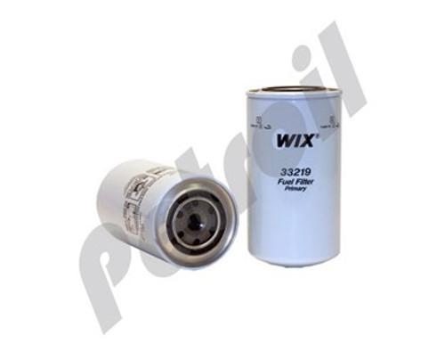Wix Fuel Filter Spin On Mack Trucks Model Mh602 Mh603 Motor V8 16 4L 998 Cid Mack E9-440 Turbo Diesel F3219 BF877 P550219 FF172 WP1110 MF1109
