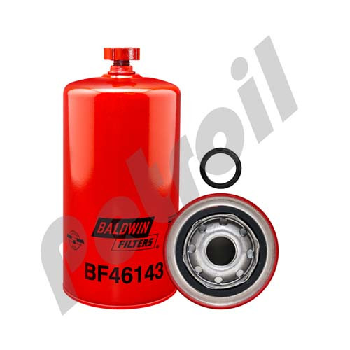 BF46143Fuel/Water Separator Spin-on with Drain