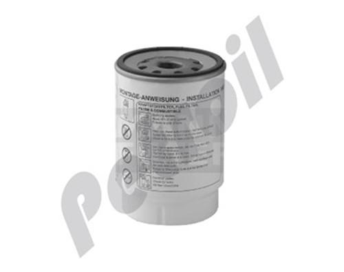 (Case of 1) PF420 MANN Water Separator Filter Trucks Mercedes 2007 Atego 1725 2425 / 711 A9584770115 9794770015 FS420