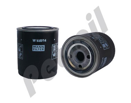(Case of 1) W930/14 MANN Filter Spin-on Oil Filter