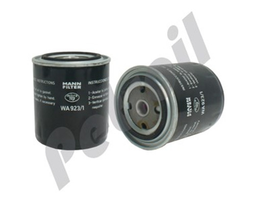 (Case of 1) WA923/1 Mann Filter Spin-on Coolant Filter