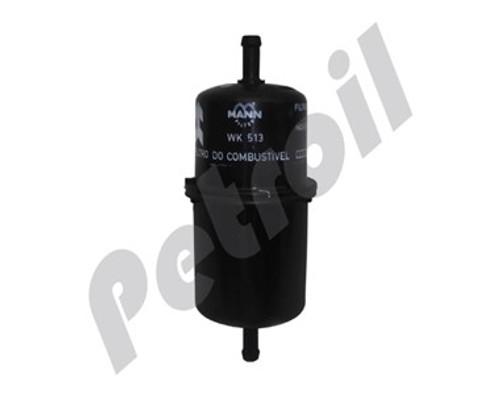 (Case of 1) WK513 MANN Fuel Filter Uno Fiorino Tempra Premio 50004949 G5493 GI40 33758 33002 MF5312