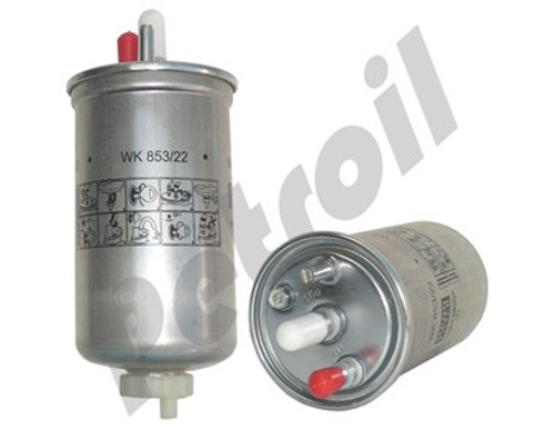 (Case of 1) WK853/22 MANN Water Separator Filter with drain: Trucks Mercedes >2008 711 A9794770001 F9053