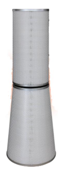 (Case of 1) SGK2282 GFC Gas Turbine Air Filter Kit Conical + Cylindrical 1CS115487-5 + 1CS115487-5I