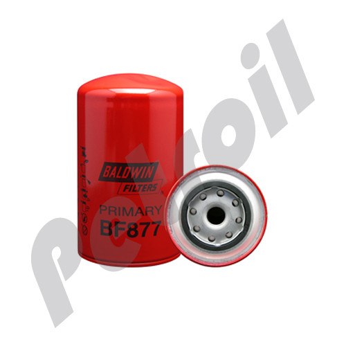 BF877 Baldwin Fuel Filter Spin On Mack R600 483GB444 483GB219A 33219 FF172 S3205 P550219