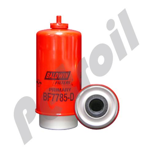 BF7785-D Baldwin Fuel Filter w/Drain Primary John Deere RE509036 RE517180 P551435 FS19906 33977