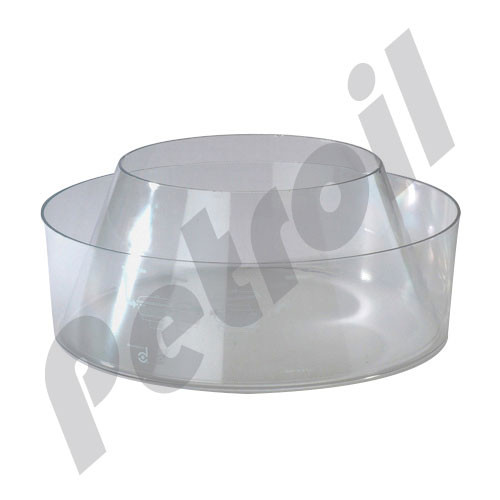 """P158324 Donaldson Pre-Cleaner Vessel for 6"""" and 7""""  1 1/8-16  1"""