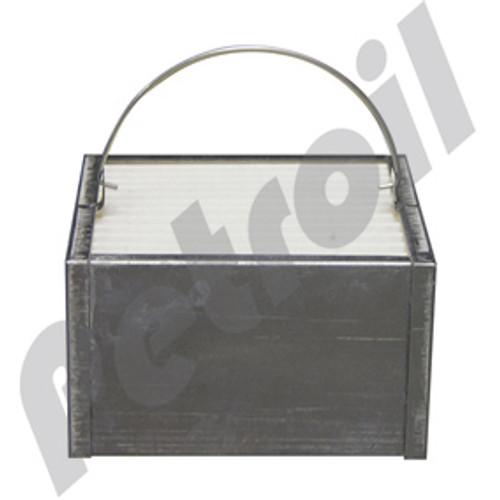 FS19605 Fleetguard Fuel Filter Box Type 1030 Deutz 01319822 Volvo 14514238 BF7912