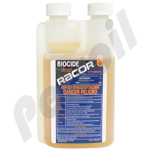 (Case of *) ADT 2116 Racor Additive BIOCIDE Diesel, tank cleaner contaminated by bacteria, algae and fungi.container of 16 Oz for 1280 gal