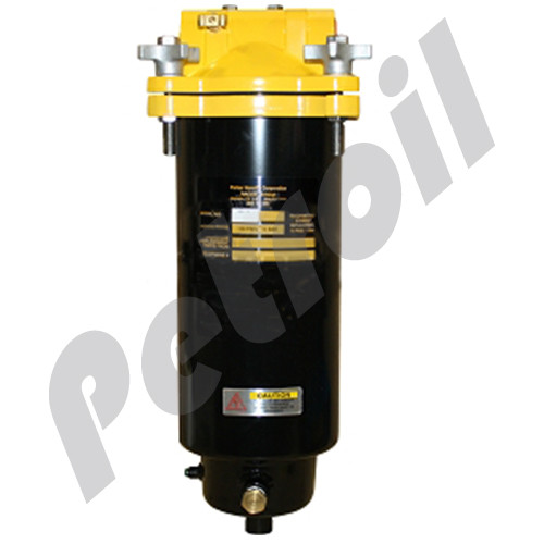 """(Case of 1) FBO-14 Racor Fuel Filter Housing Water Separator w/Drain no element 150PSI Max 1.5"""" NPT L14"""" FS14"""