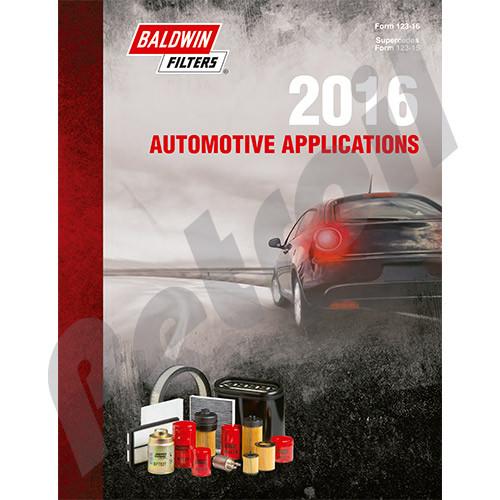 FORM123 Baldwin Automotive Applications Catalog