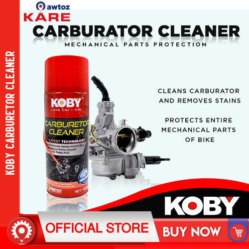 KOBY Motorcycle and Automotive Carburetor Cleaner