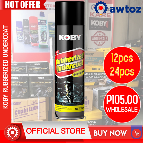 KOBY Rubberized Undercoat 700ml (Wholesale)