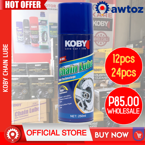 KOBY Chain Lube Oil Original 250ml (Wholesale)