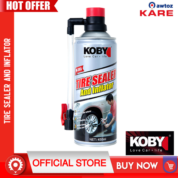 KOBY Tire Sealer and Inflator