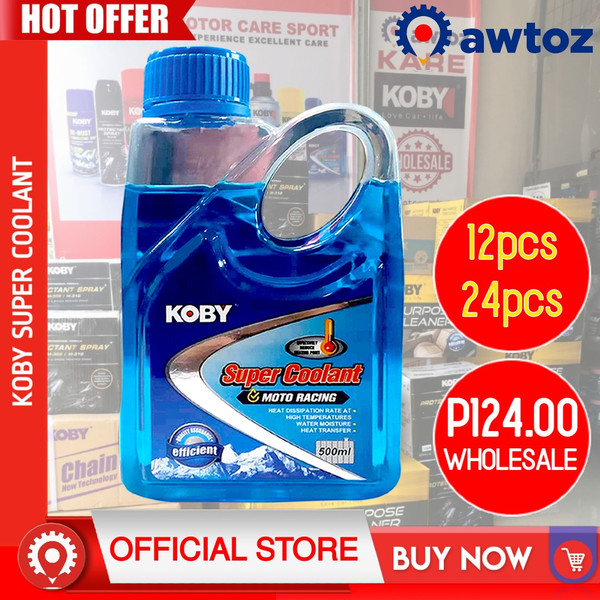 KOBY Super Coolant Motorcycle Racing 500ml (Wholesale)