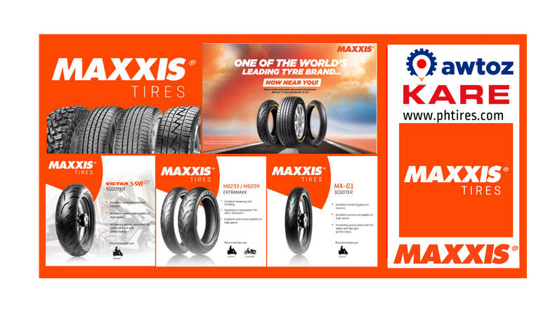 MAXXIS Tires Motorcycle Shop Philippines