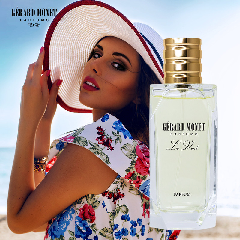 Le Vent (The Wind) for Women: is an alluring and magnificent perfume designed for the woman who is an ultimate diva. The perfume is described as oriental floral and fruity, but the unexpected hint of plum creates a warm and sensual perfume.  Fragrance Family: Balsamic, Floral, & Fruity. Main Accords: Fruity, Powdery, Sweet, Vanilla, and White Floral.  Top Notes: Bergamot, Litchi, Mandarin Orange, and Peach. Middle Notes: Jasmine, Lily, Lily of the Valley, and Plum. Base Notes: Amber, Musk, Vanilla, and Vetiver.