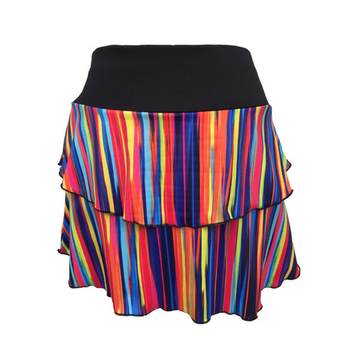 Marina Skirt in Sweet Stripes