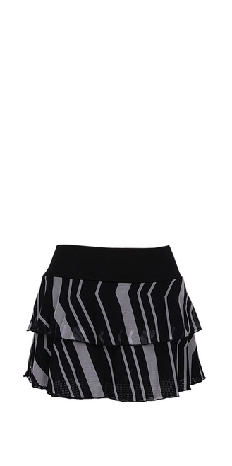 Marina Skirt in Fine Chevron Mesh