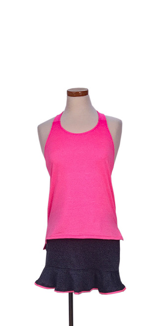Diana Tank in Coral Pink Heather