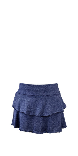 PT0113 Marina Skirt in Navy Heather