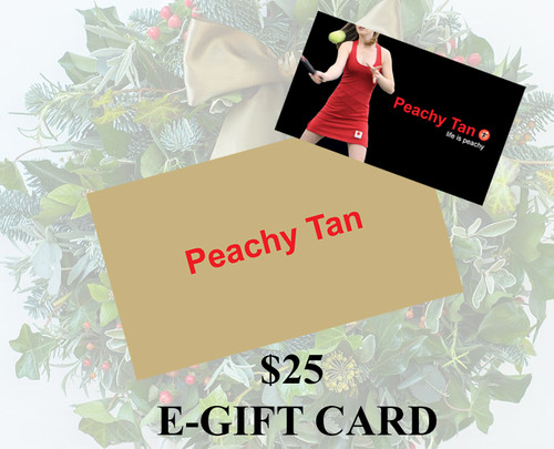 $25 E-Gift Card  - Christmas Holiday