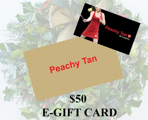 $50 E-Gift Card - Christmas Holiday