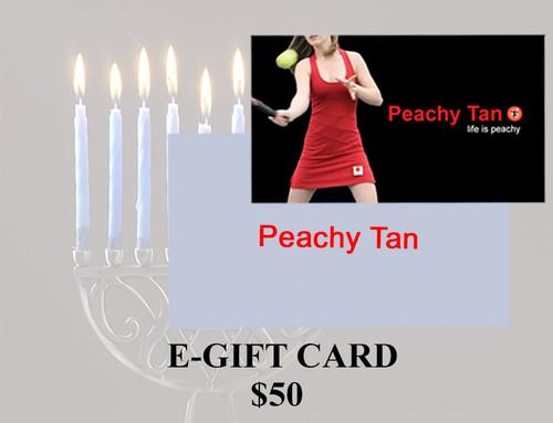 $50 E-Gift Card - Hanukkah