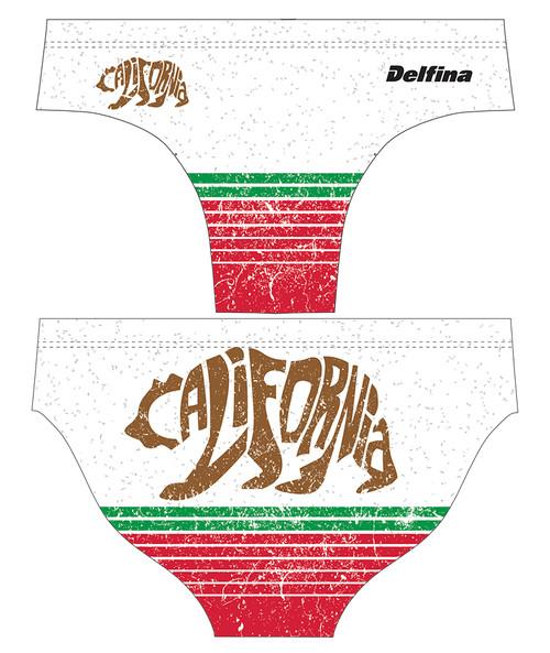 DELFINA MALE CALI BEAR WATER POLO SUIT