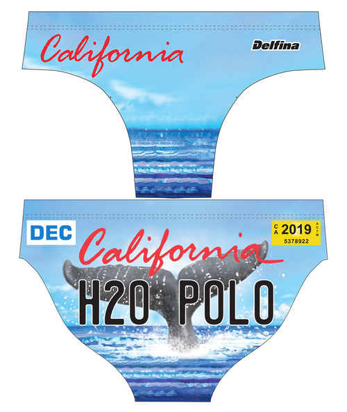 DELFINA MALE CALI WHALE WATER POLO SUIT