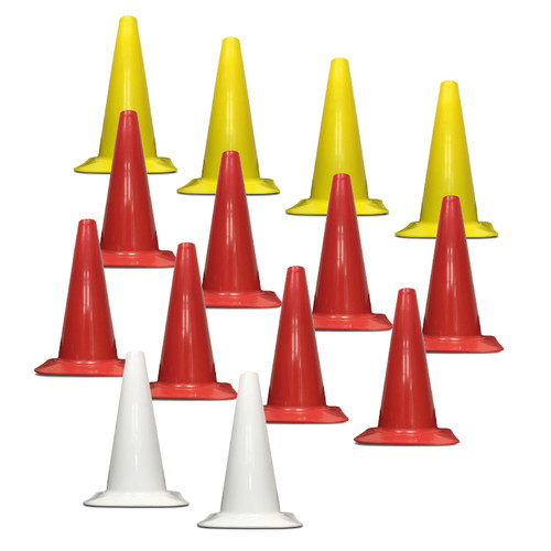 S&R SPORT FIELD OF PLAY CONE MARKERS, SET OF 14 (OPTION 1)