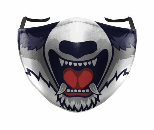 REUSABLE FACE MASK - MAD DOG