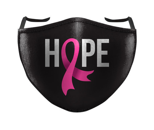 REUSABLE FACE MASK - BREAST CANCER HOPE